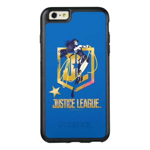 Justice League | Wonder Woman JL Logo Pop Art OtterBox iPhone 6/6s Plus Case