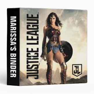 Justice League | Wonder Woman On Battlefield Binder