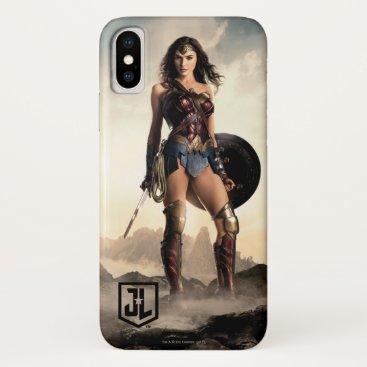 Justice League   Wonder Woman On Battlefield iPhone X Case