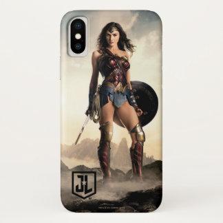 Justice League | Wonder Woman On Battlefield iPhone X Case