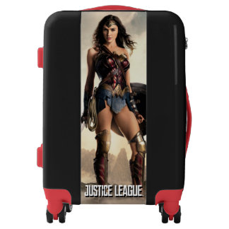 Justice League | Wonder Woman On Battlefield Luggage