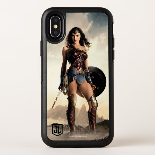 Justice League | Wonder Woman On Battlefield OtterBox Symmetry iPhone X Case