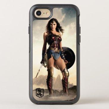 Justice League   Wonder Woman On Battlefield OtterBox Symmetry iPhone 8/7 Case