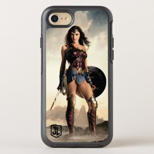 Justice League | Wonder Woman On Battlefield OtterBox Symmetry iPhone SE/8/7 Case