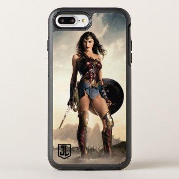 Justice League   Wonder Woman On Battlefield OtterBox Symmetry iPhone 8 Plus/7 Plus Case