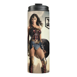 Justice League | Wonder Woman On Battlefield Thermal Tumbler