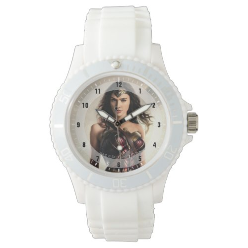 Justice League | Wonder Woman On Battlefield Wrist Watch
