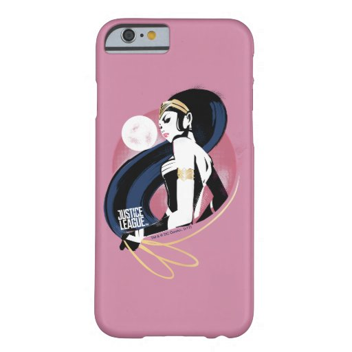 Justice League | Wonder Woman Profile Pop Art Barely There iPhone 6 Case