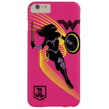 Justice League   Wonder Woman Silhouette Icon Barely There iPhone 6 Plus Case