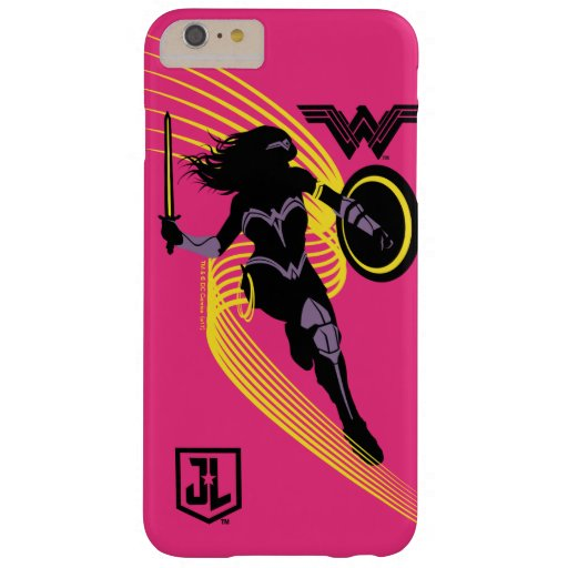 Justice League | Wonder Woman Silhouette Icon Barely There iPhone 6 Plus Case