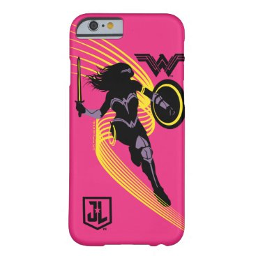 Justice League   Wonder Woman Silhouette Icon Barely There iPhone 6 Case