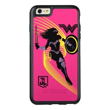 Justice League   Wonder Woman Silhouette Icon OtterBox iPhone 6/6s Plus Case