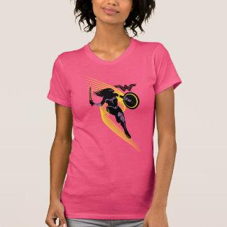 Justice League   Wonder Woman Silhouette Icon T-Shirt