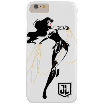 Justice League   Wonder Woman With Lasso Pop Art Barely There iPhone 6 Plus Case