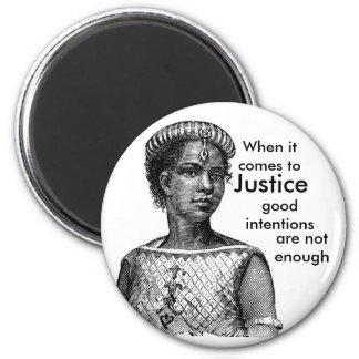 Justice 2 Inch Round Magnet