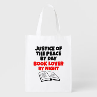 Justice of the Peace Book Lover Market Tote
