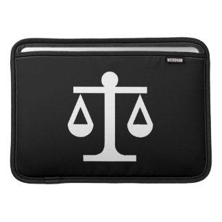 Justice Pictogram MacBook Air Sleeve