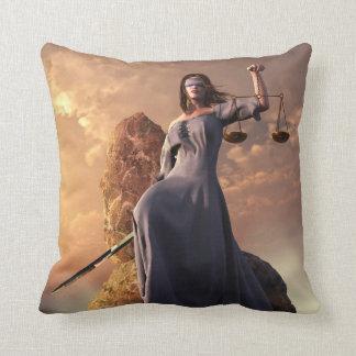 Justice Throw Pillows