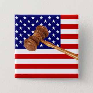 JUSTICE PINBACK BUTTON