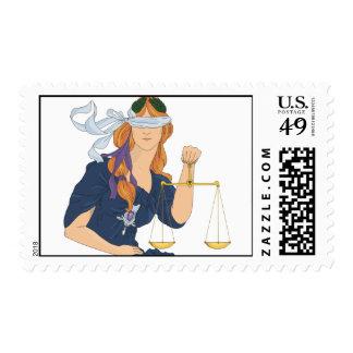 Justice Postage Stamp