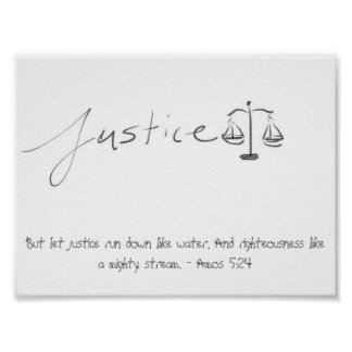 Justice (Poster) Poster