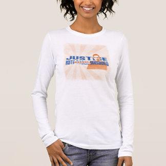 """Justice Ruth Bader """"Badass"""" Ginsburg Long Sleeve T-Shirt"""
