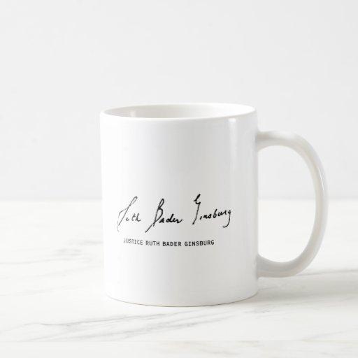 Justice Ruth Bader Ginsburg Mug