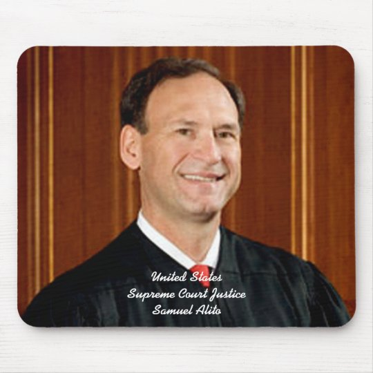 Justice Samuel Alito Mouse Pad
