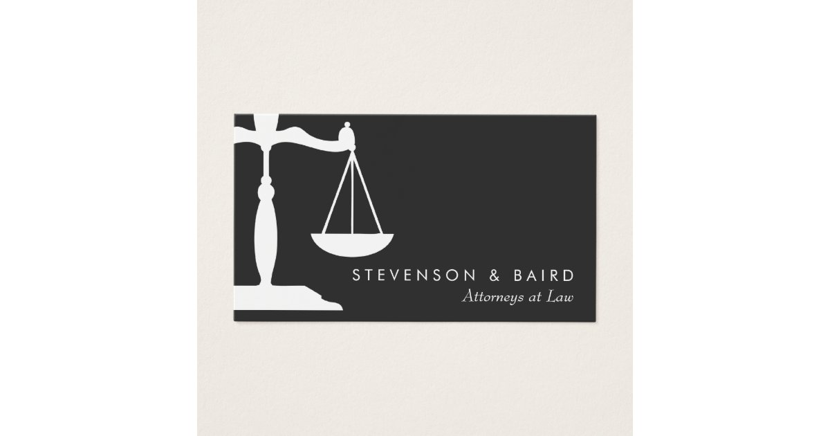 Lawyer Business Cards & Templates | Zazzle