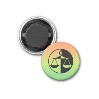 Justice Scales Fridge Magnet