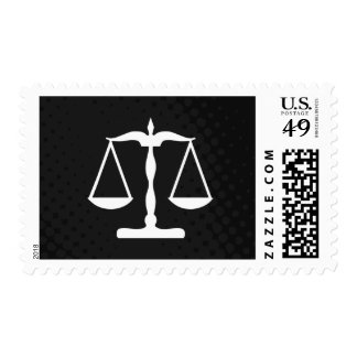justice scales stamp