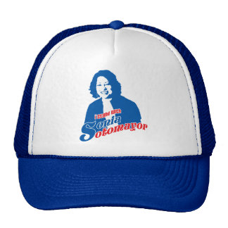 Justice Sonia Sotomayor Hat