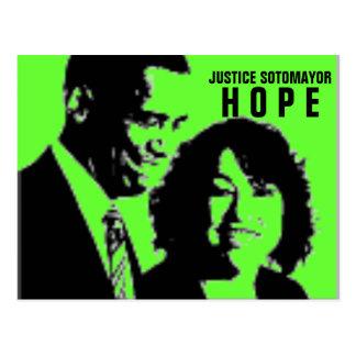 Justice Sonia Sotomayor Postcard