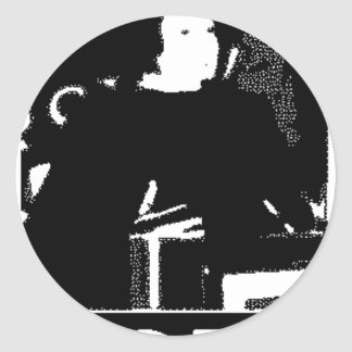 Justice Sotomayor Classic Round Sticker
