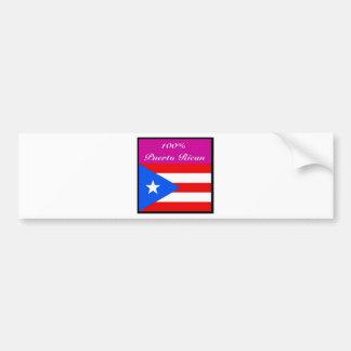 Justice Sotomayor (puerto rico) Bumper Sticker