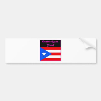 Justice Sotomayor (puerto rico)Latina Bumper Sticker