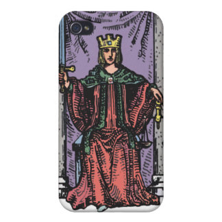 """Justice"" Tarot Card iPhone4 Case"