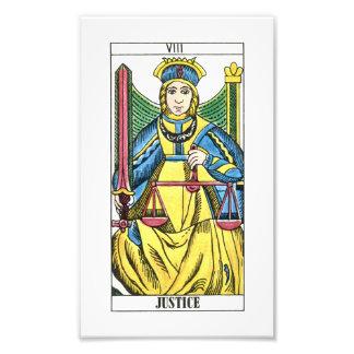 Justice Tarot Card Photo
