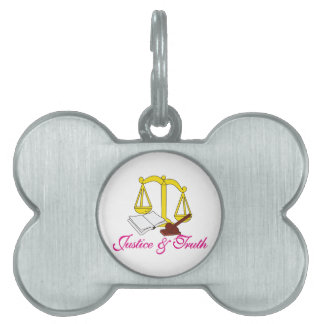 Justice & Truth Pet Tag