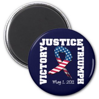 Justice Victory Triumph May 1 2011 2 Inch Round Magnet