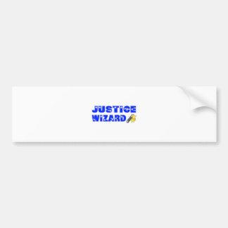 Justice Wizard Bumper Stickers
