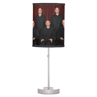 Justices Of The United States Supreme Court Table Lamp