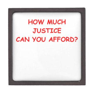 justicia cajas de regalo de calidad