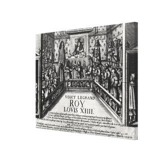 Justicia de administración de Louis XIV Impresiones En Lona