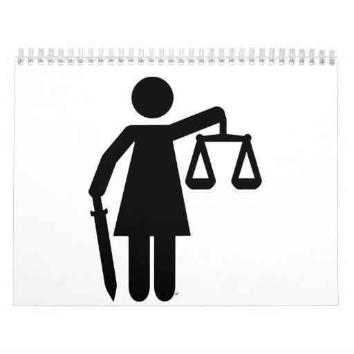 Justicia de Justitia Calendarios