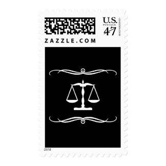 justicia de la MOD Timbre Postal