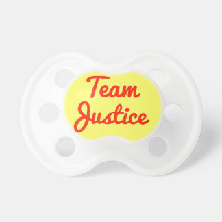 Justicia del equipo chupete