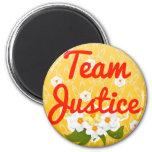 Justicia del equipo iman para frigorífico