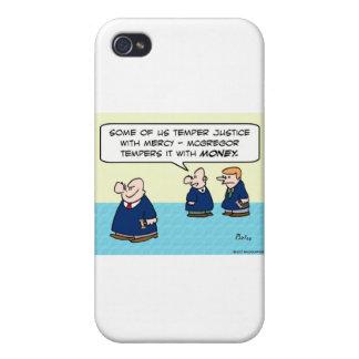 Justicia del genio del juez con el dinero de la mi iPhone 4/4S carcasa