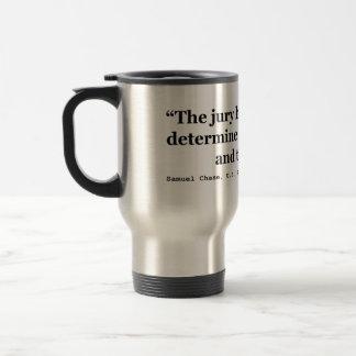 Justicia del jurado Samuel Smith 1796 de la cita d Tazas De Café